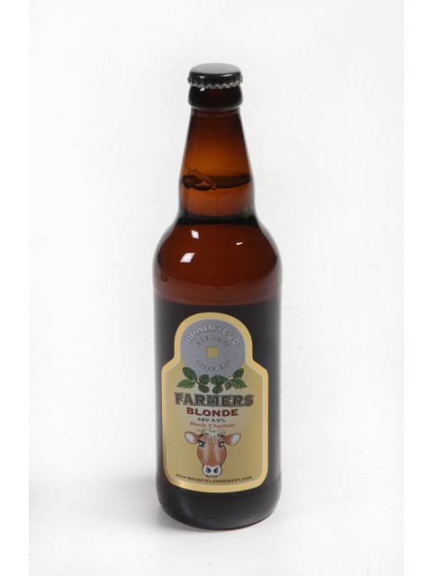 Bradfield Brewery - Farmers Blonde 12 x 500ml