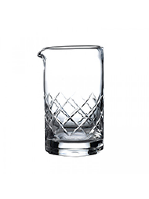 Japanese Cut Crystal Mixing Glass