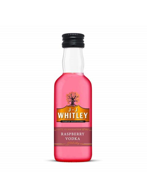 JJ Whitley Raspberry Vodka Miniature 5cl