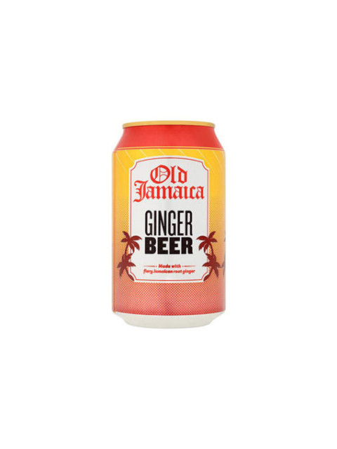 D & G Old Jamaica Ginger Beer 24 x 330ml Cans