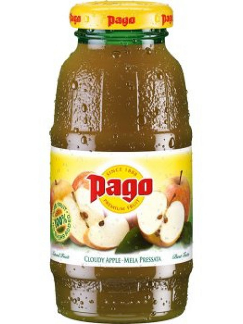 Pago Cloudy Apple Juice 1x200ml