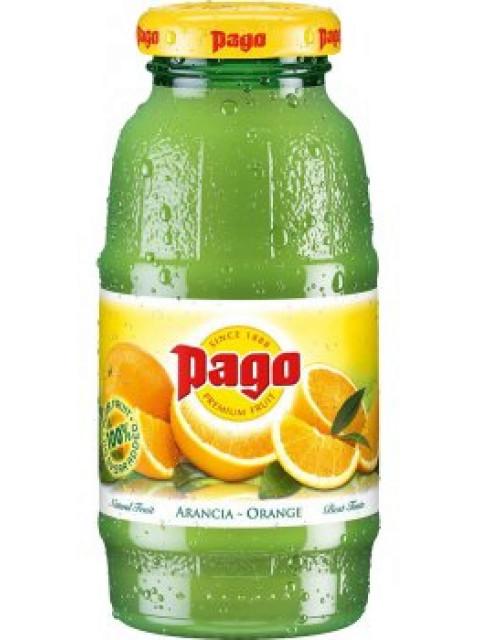 Pago Orange Fruit Juice 12x200ml