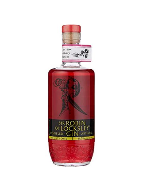 Raspberry & Cardamom Sir Robin Of Locksley Gin 70cl