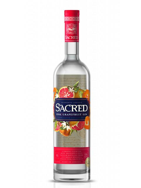 Sacred Pink Grapefruit Gin 70cl