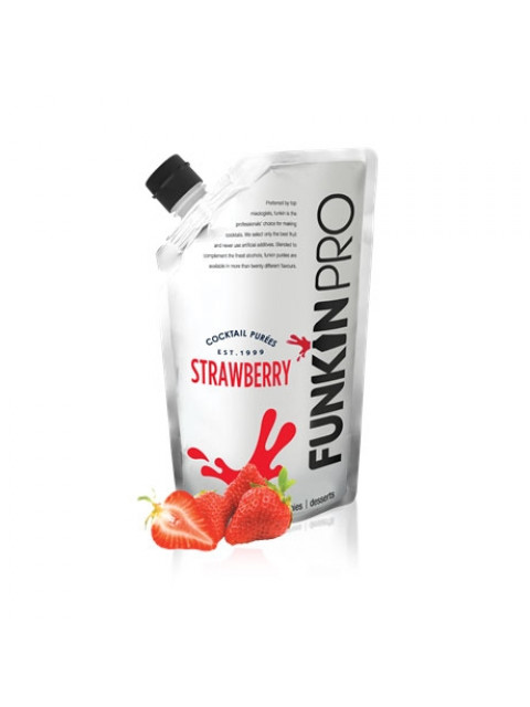 Funkin Strawberry Puree 1Ltr