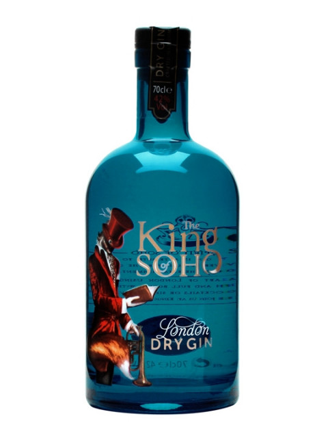King of Soho Gin 70cl