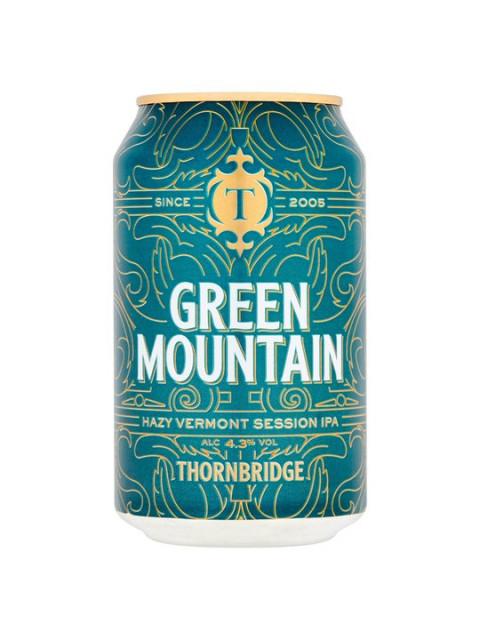 Thornbridge Brewery - Green Mountain IPA 24 x 330ml Cans
