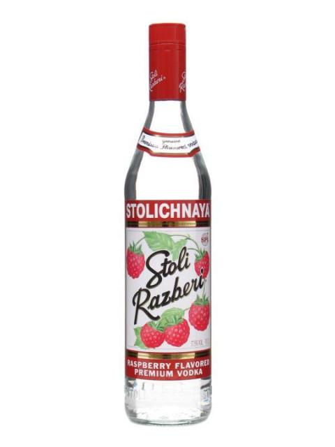 Stolichnaya Raspberry Vodka 70cl