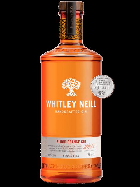 Whitley Neill Blood Orange Gin 70cl